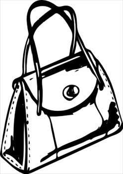 Free Purse Clipart Image