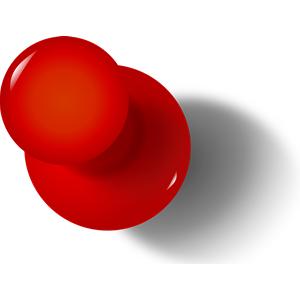 Thumbtack Pushpin Clipart Cliparts Of Thumbtack Pushpin Free Pushpin Clipart
