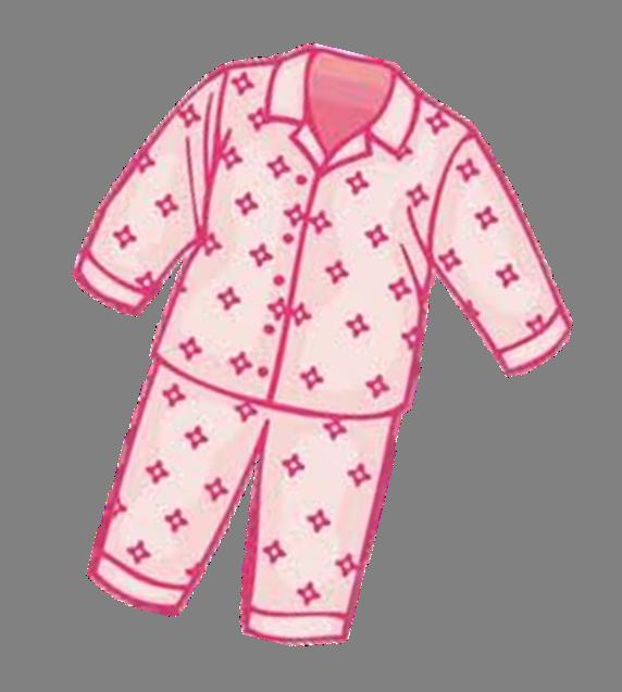 Putting On Pajamas Clip Art