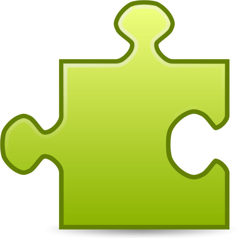 Puzzle free to use cliparts