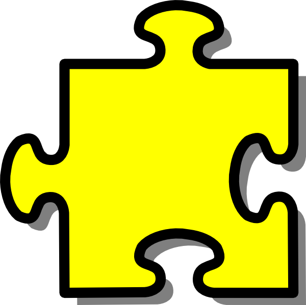 Puzzle Piece Clipart this image as: