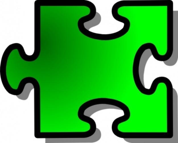 Puzzle piece clipart image