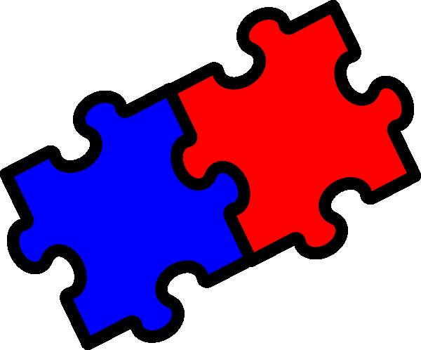 Puzzle clipart 2 piece #2