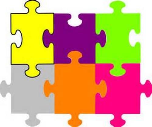 Puzzle piece clipart puzzle image 2