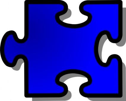 Puzzle Piece Clipart #1