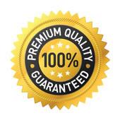 Quality service; Premium quality label