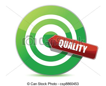 Target Quality Illustration D - Quality Clipart