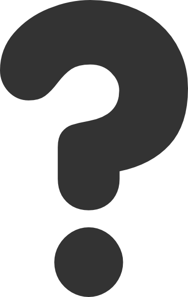 Any Question Mark Clipart #1