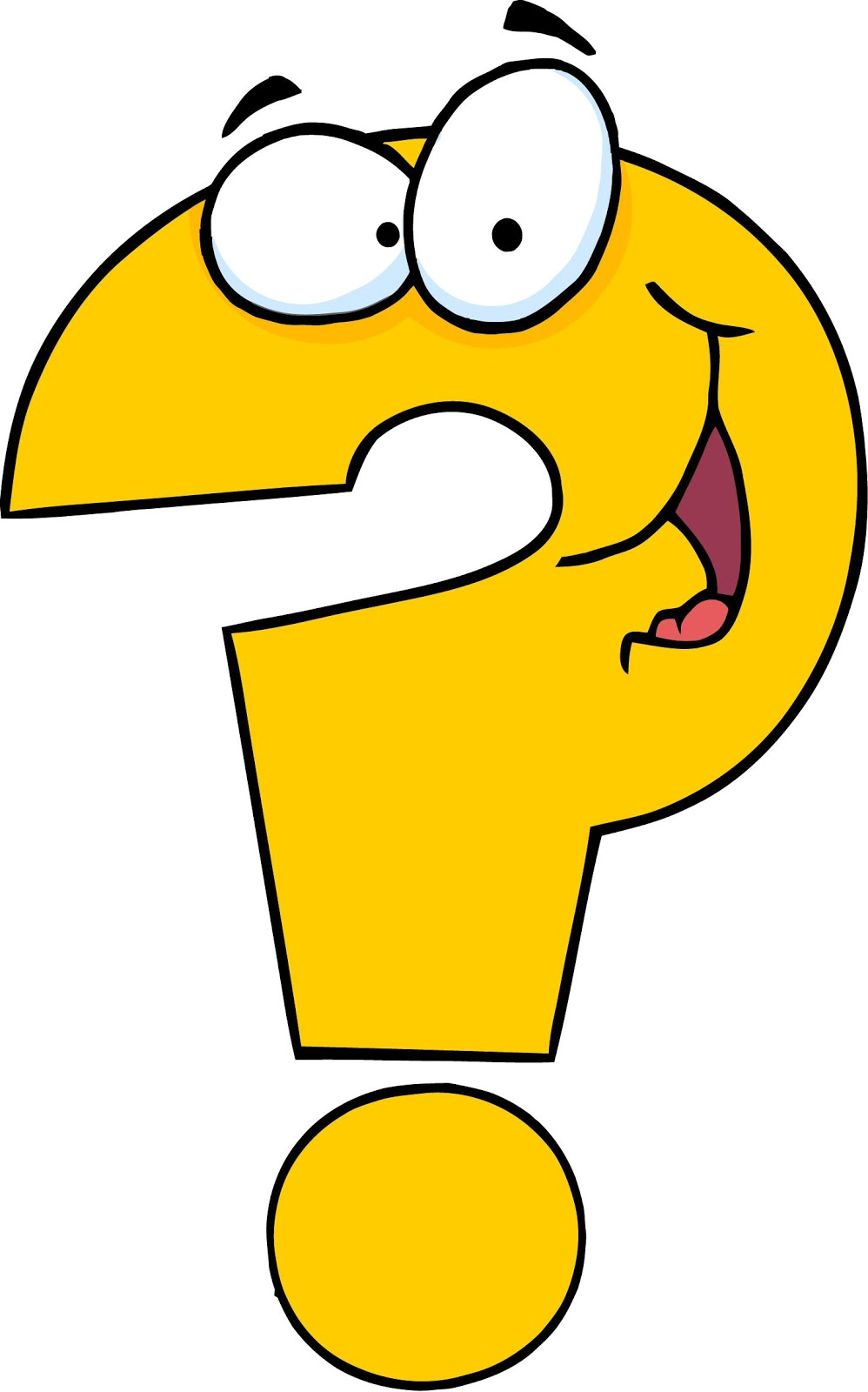 Question: Question Mark - ClipArt. Question