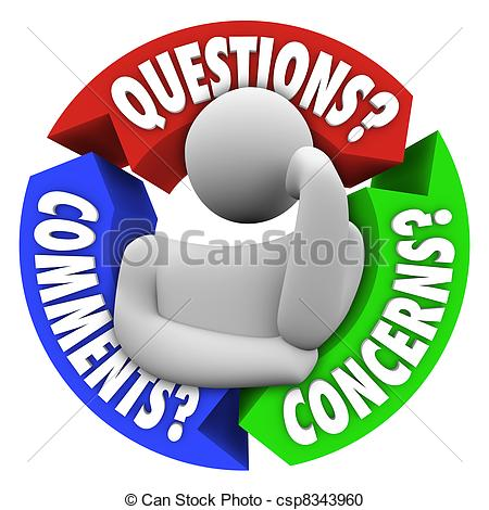 ... Any Questions Concept