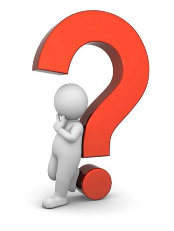 Questions question mark clip  - Clipart Questions