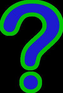 Questions question mark clip .