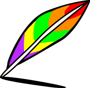 Quill Pen Writing Clipart