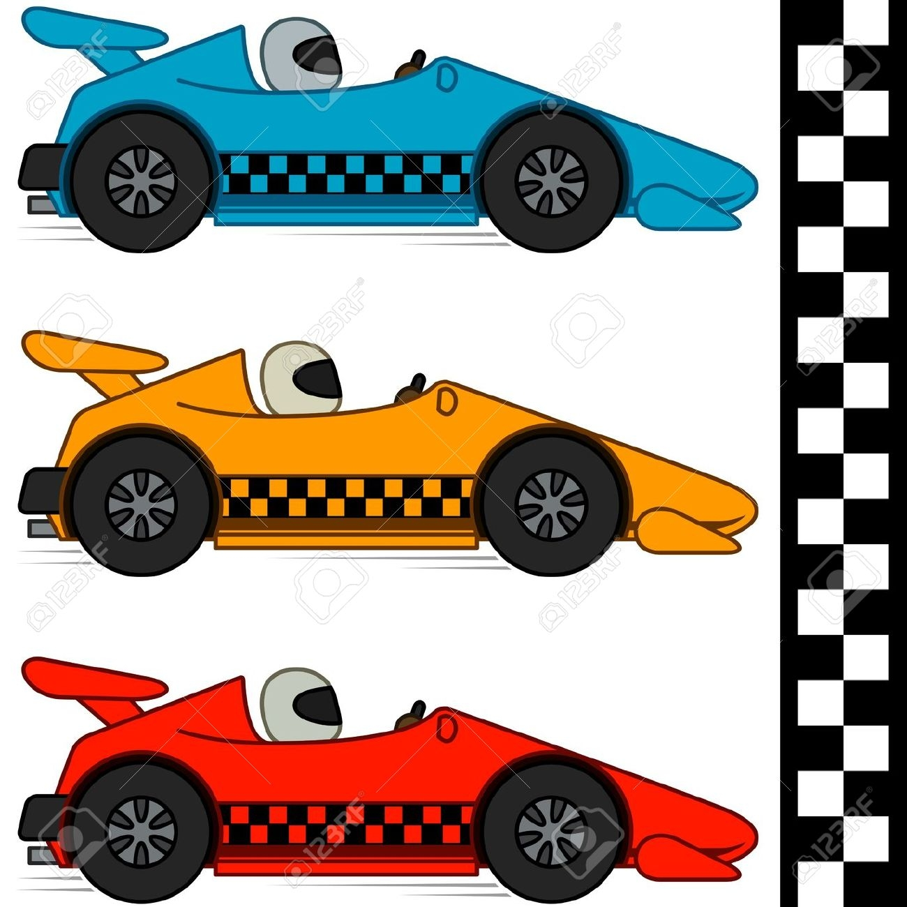 Race Car Clipart Free