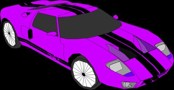 Race car sports car vector clip art
