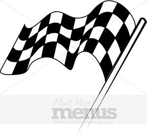 Racing Flag Clipart