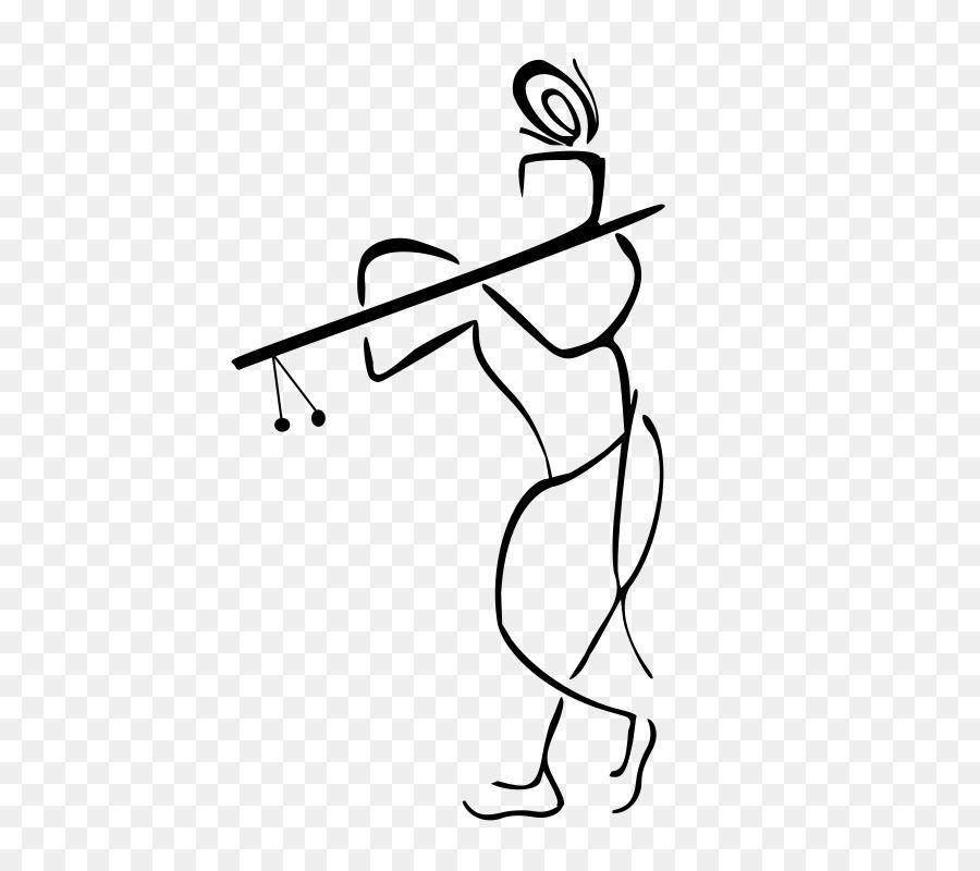 Krishna Janmashtami Ganesha Clip art - Radha Krishna