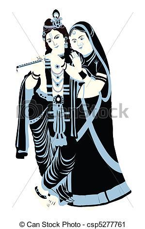 radha krishna - csp5277761