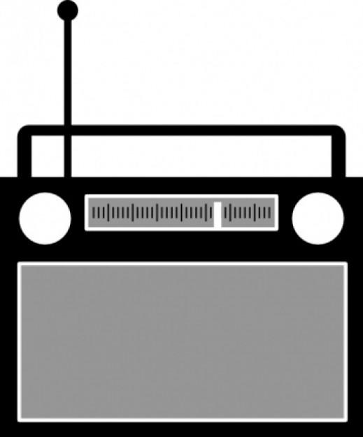 Radio clipart 2