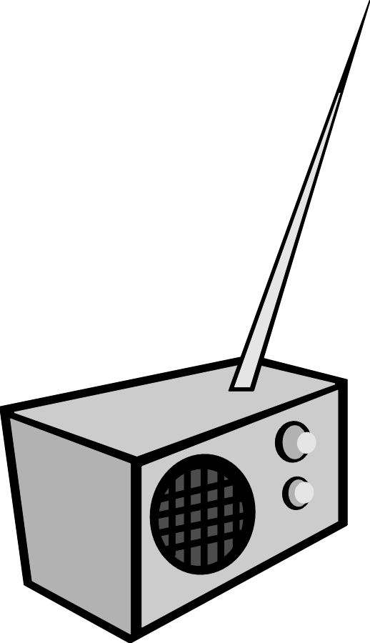 Radio tower clipart radio clipart
