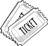 ... raffle ticket ...