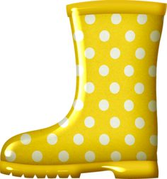 Boots clipart red rain boot #4