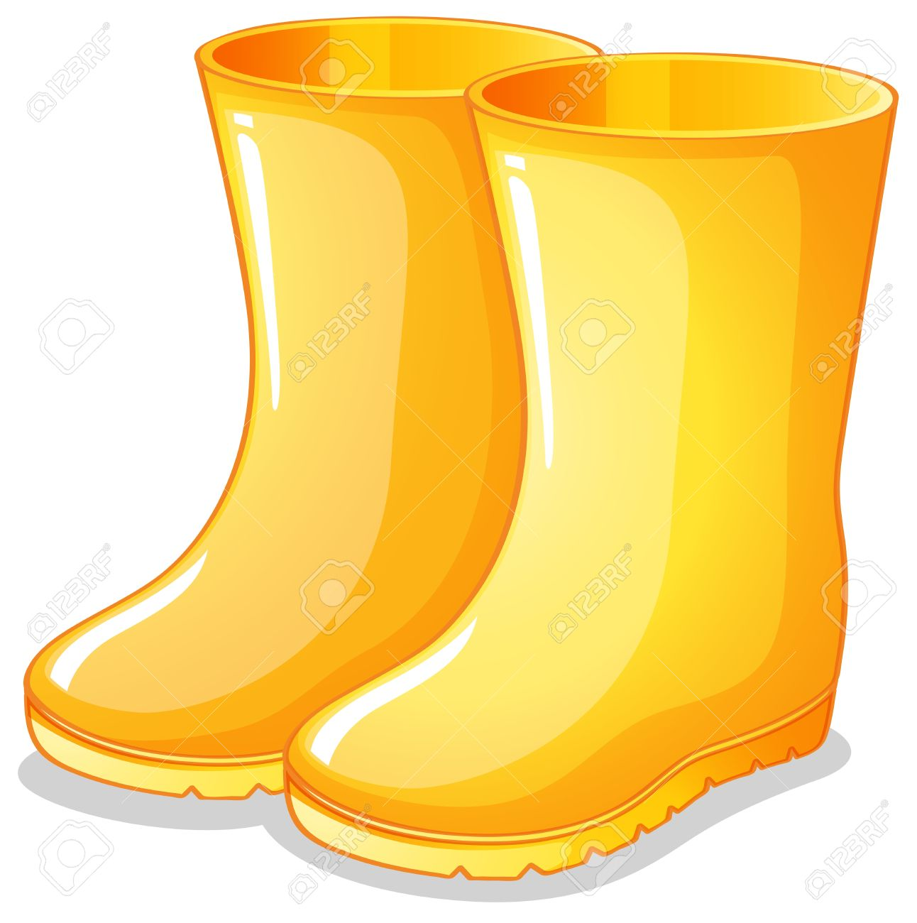 Boots clipart wellington boot #4