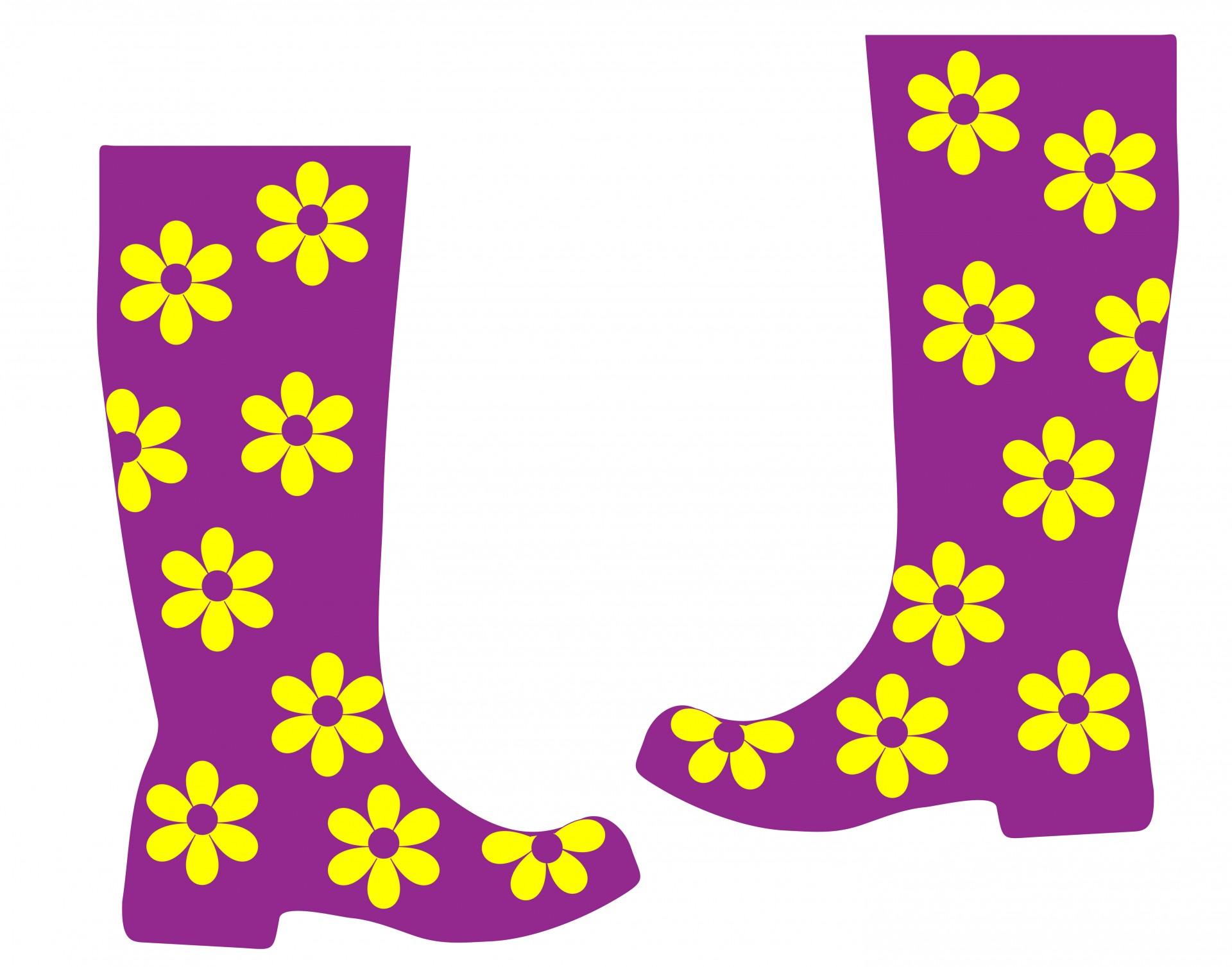 Rain Boots Clipart