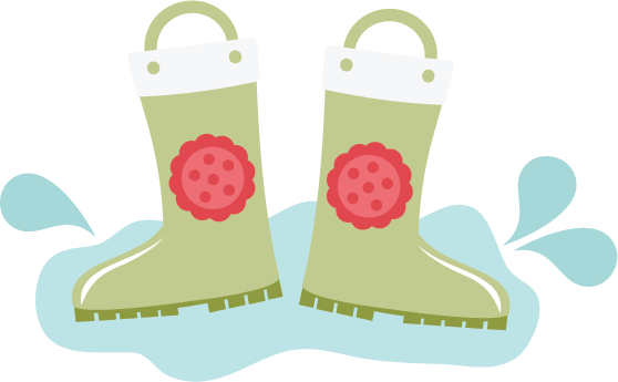 Rain Boots SVG files for scrapbooking cardmaking rain boots svg