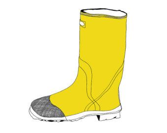 WELLINGTON BOOTS Colouring Pa - Rain Boots Clipart