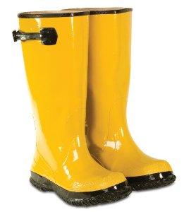 Yellow Rain Boots Clipart