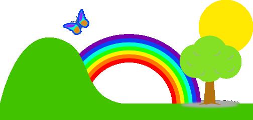 rainbow clip art - Rainbow Clipart