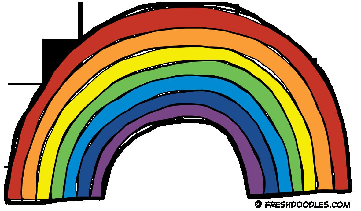 rainbow clipart