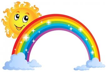 Rainbow clip art rainbow images clipartall