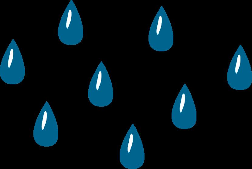 Raindrop clip art 3