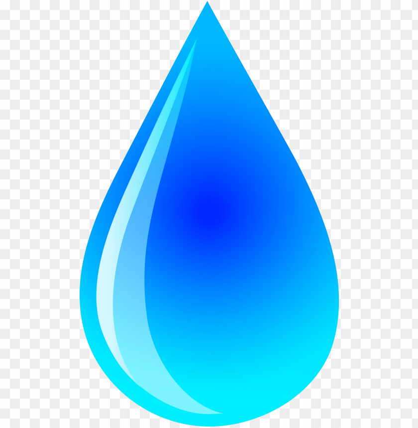 blue water droplet logo - rai - Raindrop Clipart