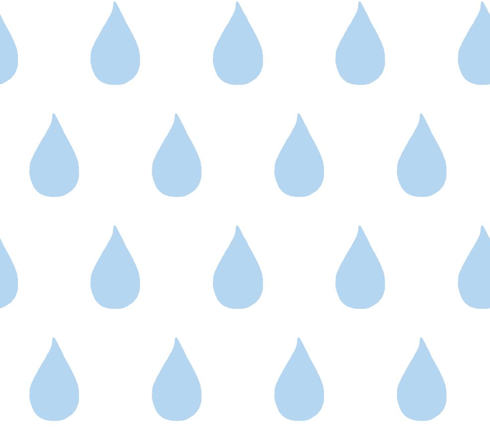 Raindrop stencil clipart