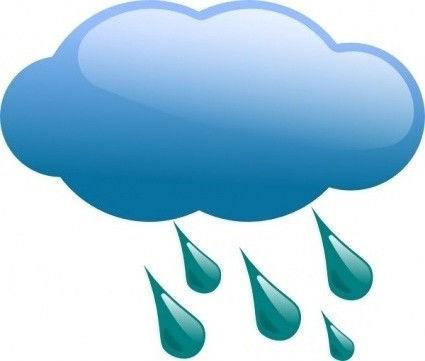 Rainy Cloud - Clipart library