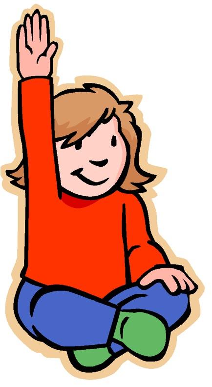 Raise Your Hand Clip Art Cliparts Co