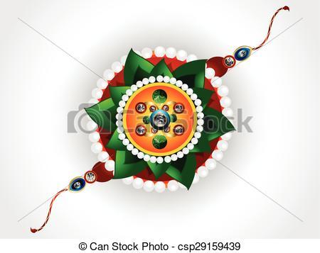 abstract raksha bandhan background - csp29159439
