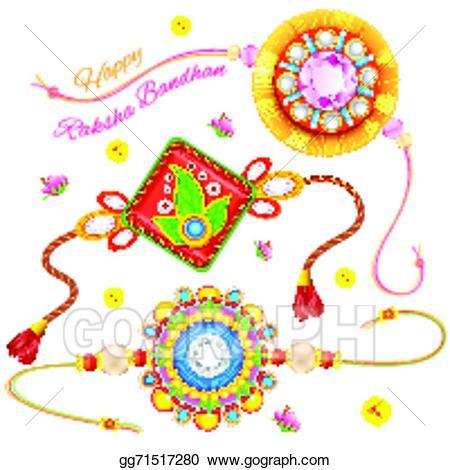 Decorative Rakhi for Raksha Bandhan