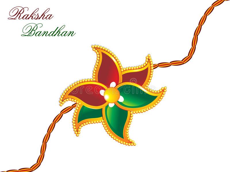 Download Raksha bandhan theme rakhi stock vector. Illustration of brother -  15558002