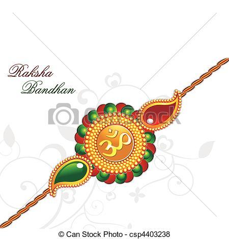 raksha bandhan theme rakhi - csp4403238