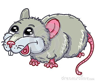 Funny Rat Clipart