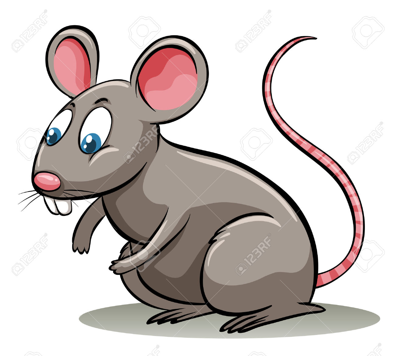 Lion clipart rat #12