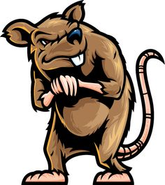 Rat Mascot Cliparts #2761559