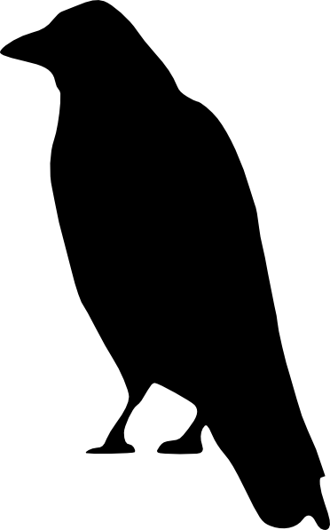 Raven Clipart this image as: