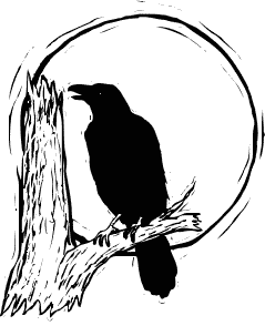 Free Raven Clipart