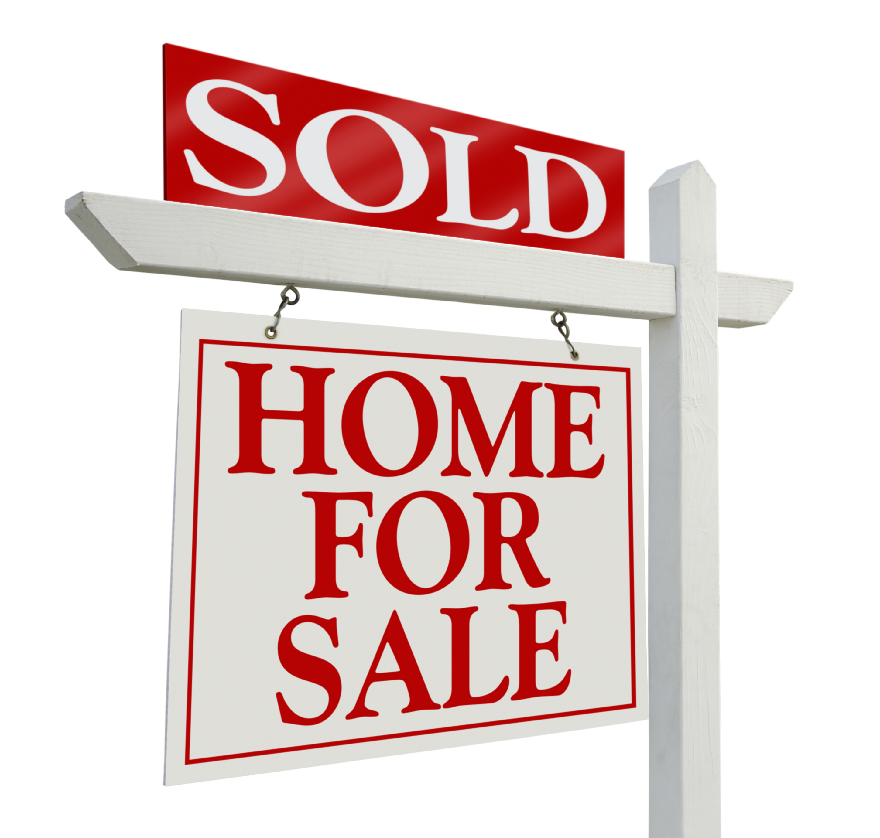 real estate sold sign clipart
