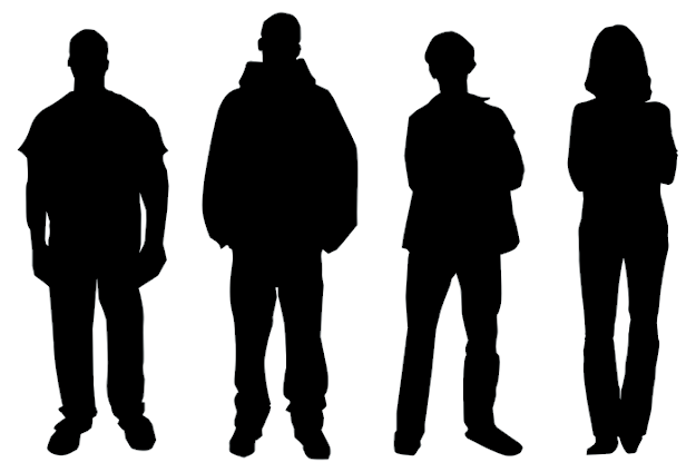 Real People Silhouettes